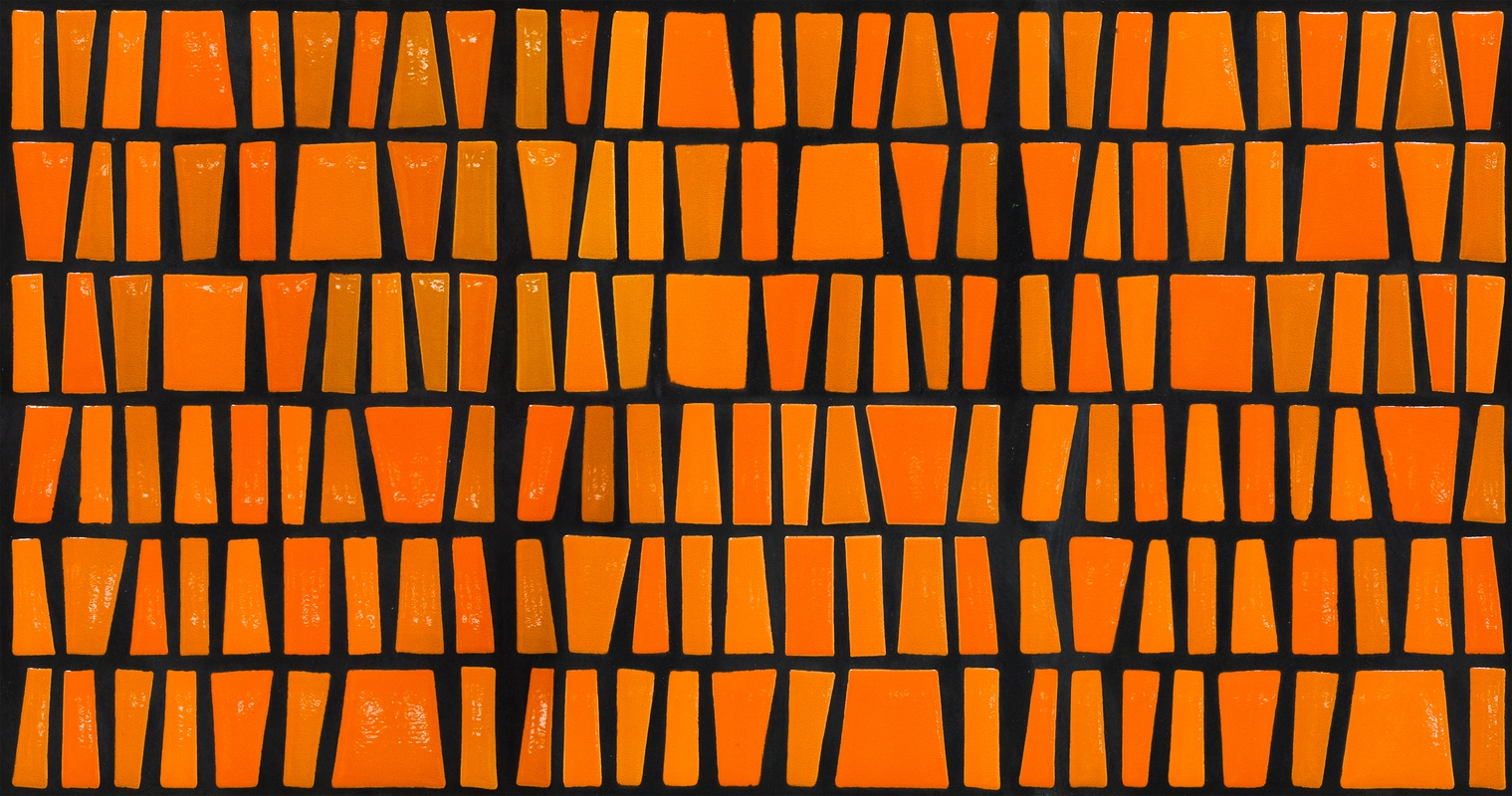 wildtextures-african-inspired-orange-glossy-tiles-seamless-pattern