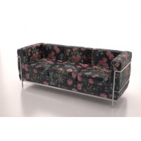 Corbusier 3 Seater (Floral Classic)