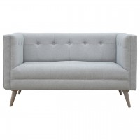 Grey Tweed 2 Seater Sofa