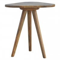 Triangular Accent Tripod Stool