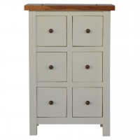 Country Two Tone Mini Cabinet