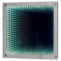 Light Tunnel Wall Mirror
